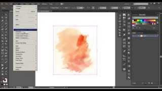 Adobe Illustrator - Advanced Watercolor Vector