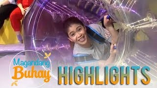 Magandang Buhay: Momshie Melai tries the bubble ball and trampoline