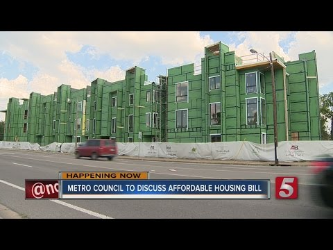 Metro Council Reviews Affordable Housing Bill