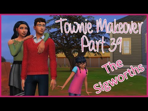 The Sims 4 || Townie Makeover Part 39 || The Sigworth Family