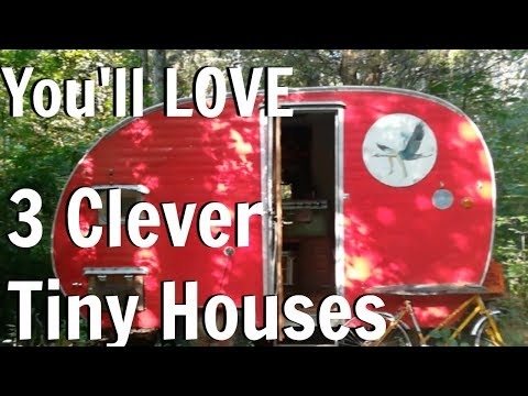 3 Clever Tennessee Tiny Houses You'll LOVE / Tiny House Living / Tiny House Tour