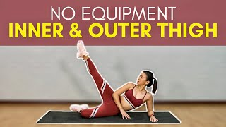 No Equipment Inner & Outer Thigh (Sculpted Hips & Thighs) | Joanna Soh
