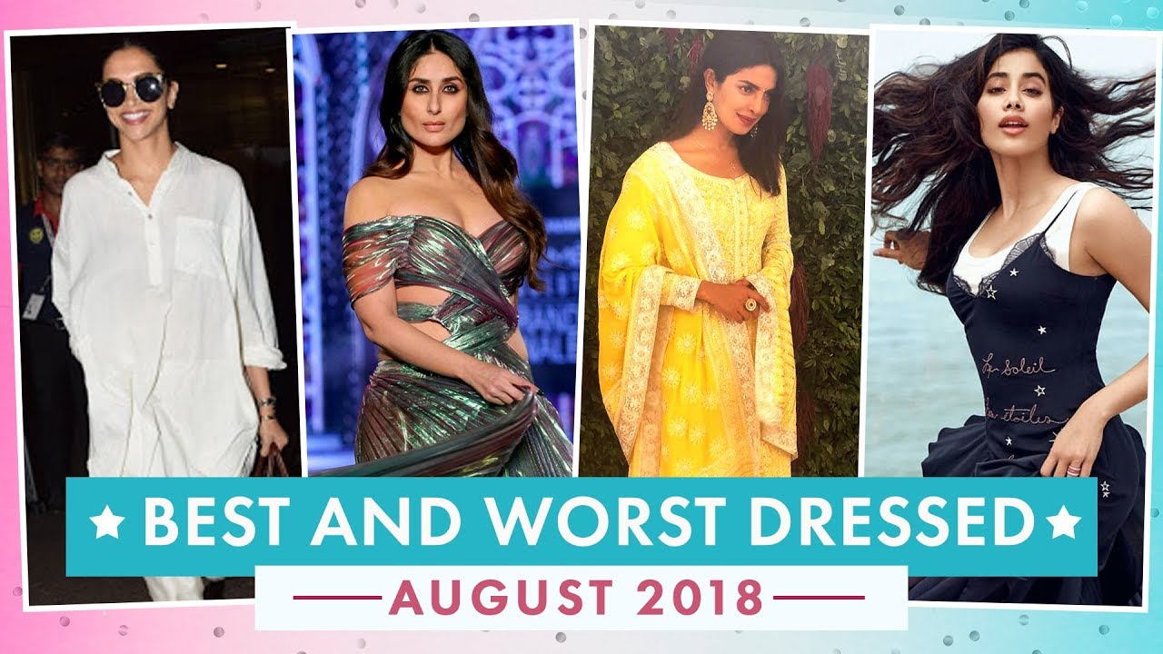 Deepika Padukone, Alia Bhatt, Aishwarya Rai: Best & Worst Dressed of August 2018 | Fashion