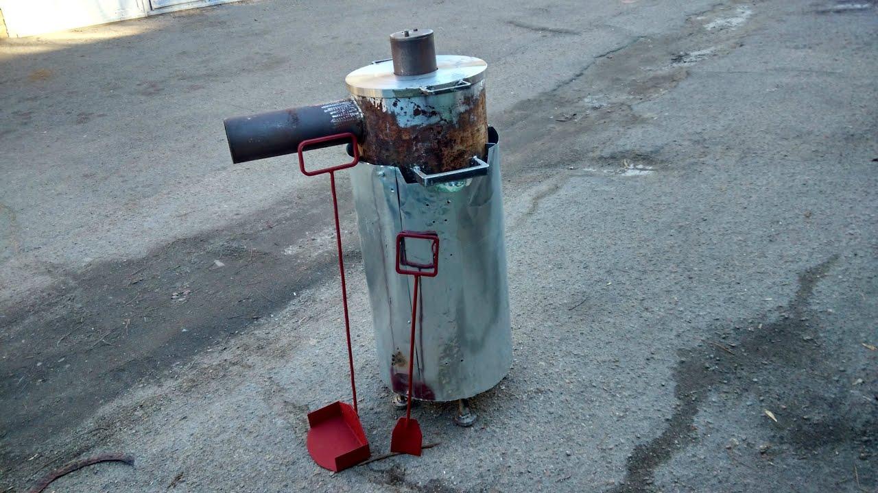 Бубафоня - печь длительного горения своими руками