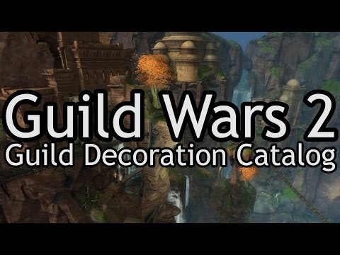 Guild Wars 2: Guild Hall Decorations Catalog
