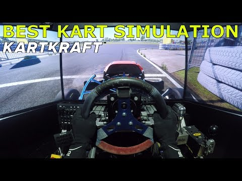 Best Kart Sim - KartKraft | KZ2 Shifter Kart @ Geelong Karting [Onboard Triple Screen]