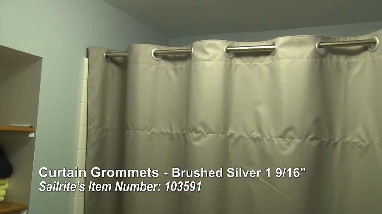 Curtain Grommet Installation
