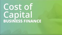 Cost of Capital and Cost of Equity | Business Finance