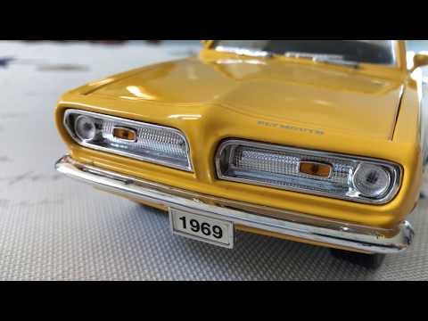 Review of 1/18 Plymouth Barracuda by Yatming