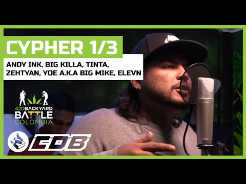 Cypher 1/3 - 420 Backyard Battle 🇨🇴 COLOMBIA 2019 - Andy ...