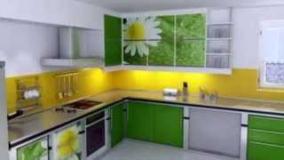 Repeat youtube video интерьер , дизайн кухни ...
