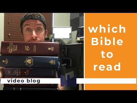 The Top 3 Bible Translations For 2018 | Best Selling Bible Version