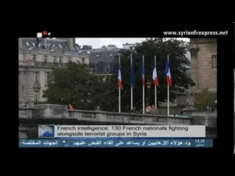 Syria News 12.10.2013, French intelligence: 130 French nationals Jihadists fighting in Syria