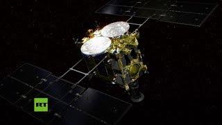 Una sonda japonesa aterriza sobre el asteroide Ryugu para investigar los orígenes del Sistema Solar