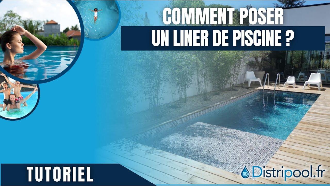 pose et montage Liner piscine avec escalier - version 2019 ... - Pose Liner