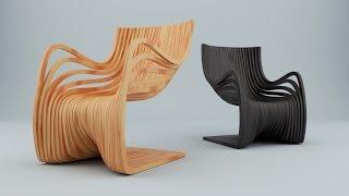 Моделирование Pipo Chair в Blender