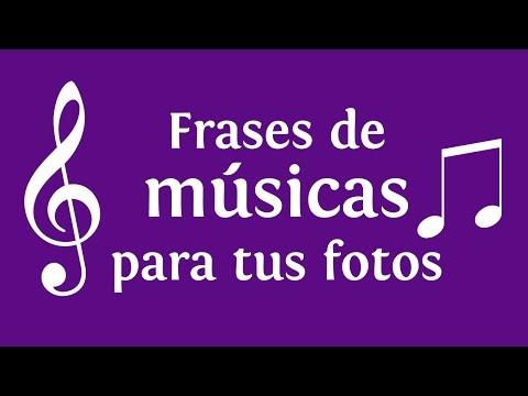 Frases de músicas para tus fotos | INNATIA.COM