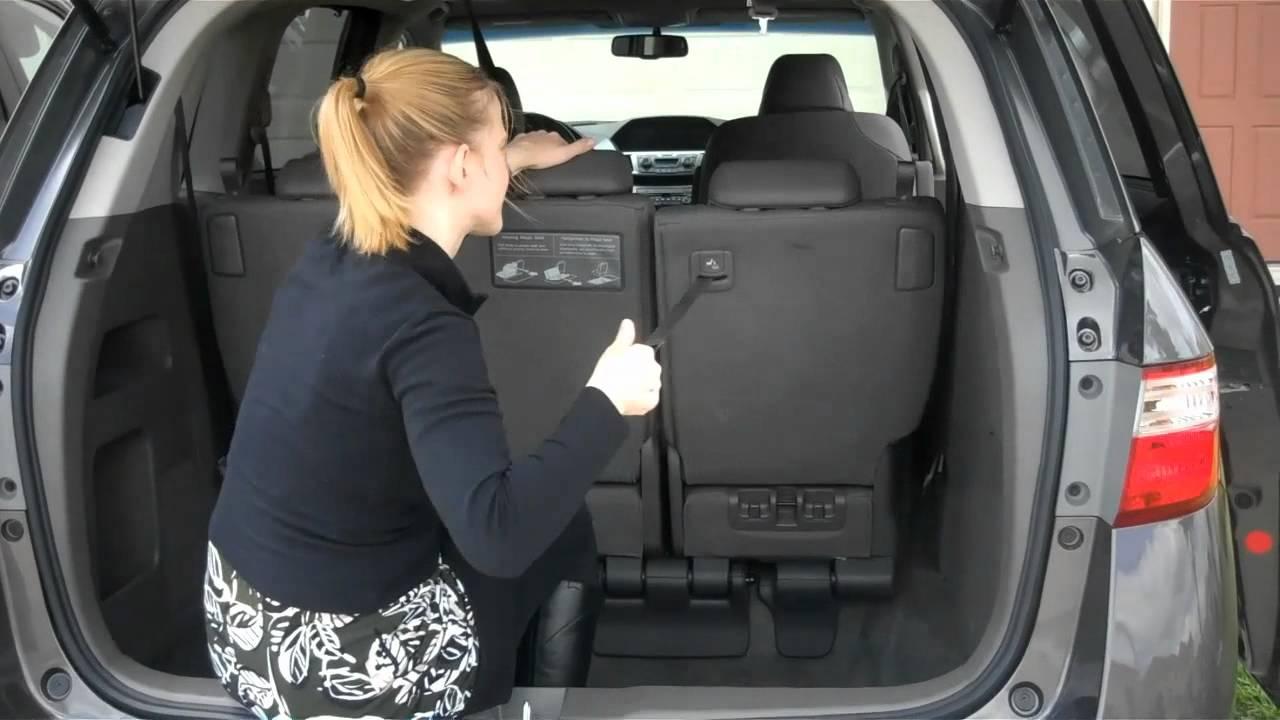 Honda odyssey seats fold down