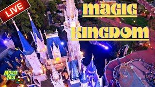🔴 LIVE: Magic Kingdom Sunday Walk In The Park    Walt Disney World Live Stream