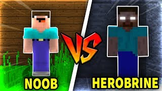 Troll NOOB Bằng HEROBRINE Trong Minecraft!!!