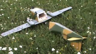 Неудачный взлет и падение ру самолета