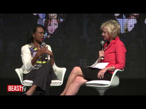 WITW Brazil: Condoleezza Rice on Gaddafi