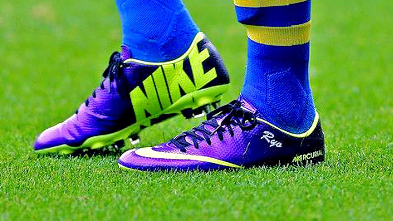 768f1a84b 2014 Ibrahimovic Boots  Nike Mercurial Vapor 9 IX Hi-Vis Unboxing by  freekickerz - YouTube