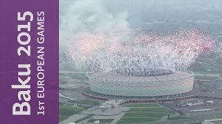 Closing Ceremony Kicks-Off | Baku 2015 European Games