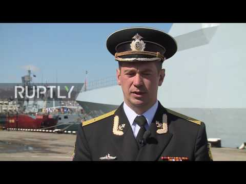 Russia: Two Turkish warships welcomed on unofficial visit to