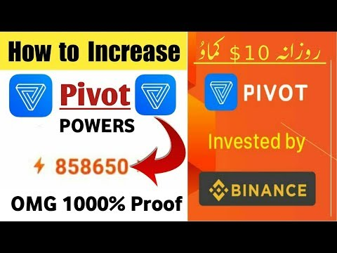 Earn 20$ Daily By Pivot Just Reading Post And Sharing