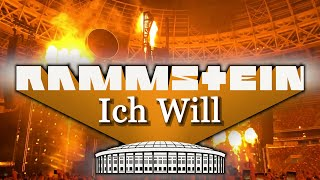 RAMMSTEIN - ICH Will + Final ( LIVE IN MOSCOW 2019)