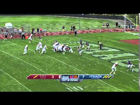 Ithaca College vs. Union College Football Highlights ...