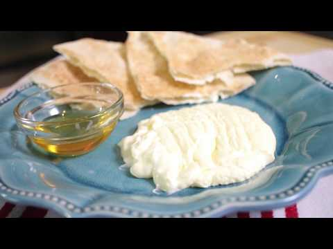 How to make Geymar / Clotted Cream (Assyrian Food)
