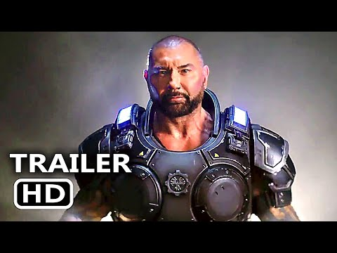 "GEARS OF WAR  ""Dave Bautista"" Trailer (2019) Action Game HD"