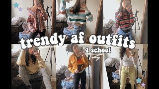TRENDY & EASY OUTFIT IDEAS *for school*