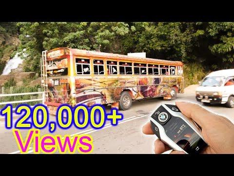 Remote control ashok leyland bus first one in sri lanka ''Sandakumari'' thumbnail