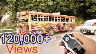 Remote control ashok leyland bus first one in sri lanka ''Sandakumari''