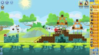 Angry Birds Friends Tournament ● LEVEL 2 ● 231 K HD ● Week 201 ●  POWER UP