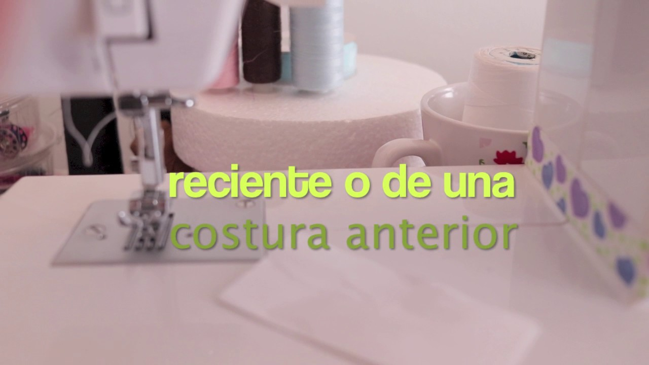 TENSION DEL HILO SUPERIOR DE LA MAQUINA DE COSER - YouTube
