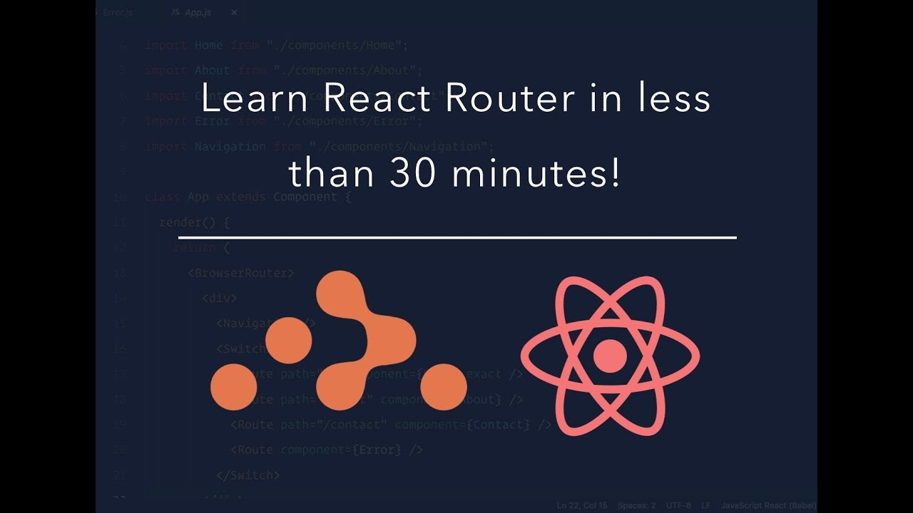 React Router tutorial for beginners | React Router v4 2018