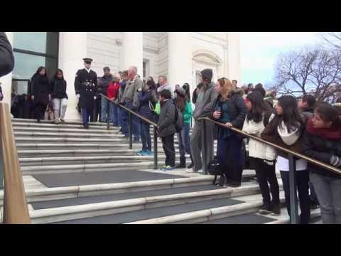 Hobart Shakespeareans at Arlington National Cemetery