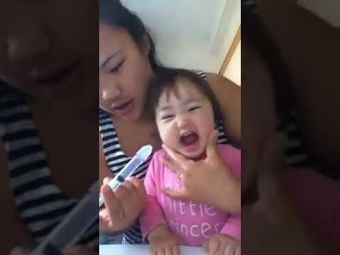 كيف تنظف انف طفلك How to clean your baby's nose