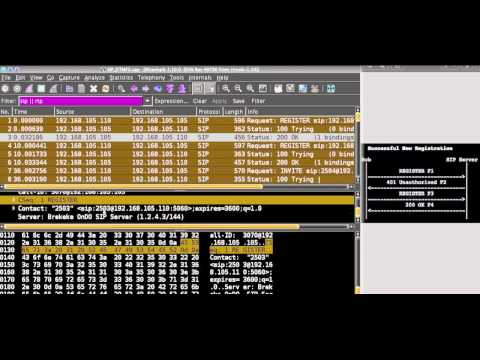 voip How To debug sip packet voip,how to replay captured VoIP calls using  Wireshark  RFC 3261