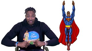 "NBA Superhero Alter Egos With Dwight ""Superman"" Howard"