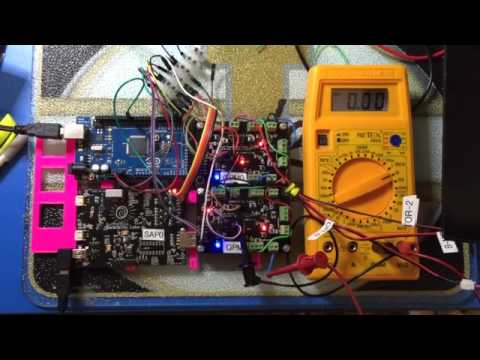 Quad Power Management Board in SunRover Robot