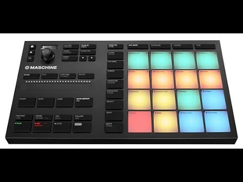 maschine mikro mk3 2 7 8 first look review youtube