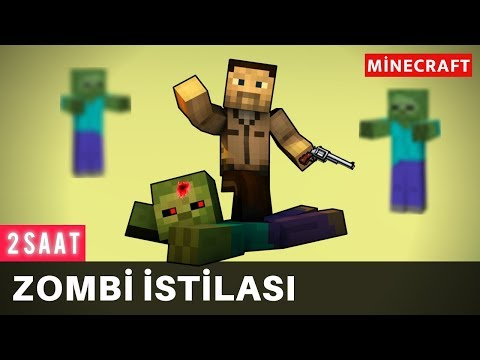 ZOMBİE OUTBREAK - Minecraft Movie (2 Hour Film)