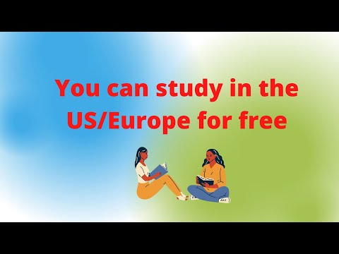 How to study in the US/other countries for free (full scholarship)
