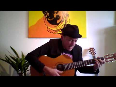 """Jamaica Farewell"" -L. Burgess- Acoustic Guitar by Jo. Vogel"