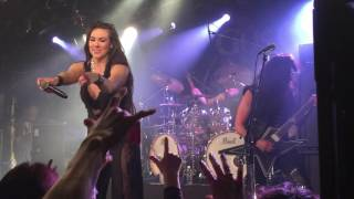Gus G. - Breaking the Silence(Firewind)~Crazy Train(Ozzy Osbourne) with Elize Ryd